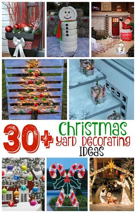 breathtaking christmas yard decorating ideas