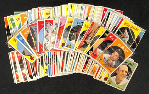 Sam's mlb cards is an online trading card consignment store, we buy, sell, and post weekly. Lot Detail - Lot Of 200 Different 1959 Topps Baseball Cards