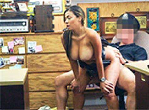 Sweet Pigtailed Lady Having In The Pawnshop