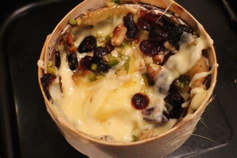les fromages de clairette recette mont d or r 244 ti au miel et fruits secs 187 les fromages de