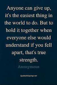 Quotes About Strength And Determination