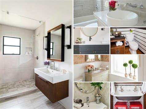 ideas for bathroom renovations rustic bathroom ideas hgtv
