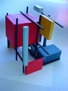 Design 1: 3D Studies: Mondrian by Le-Enne on DeviantArt