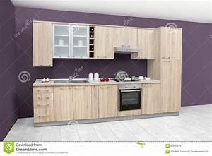 Cuisine Moderne En Bois : meuble de cuisine simple mobilier design d coration d 39 int rieur ~ Preciouscoupons.com Idées de Décoration