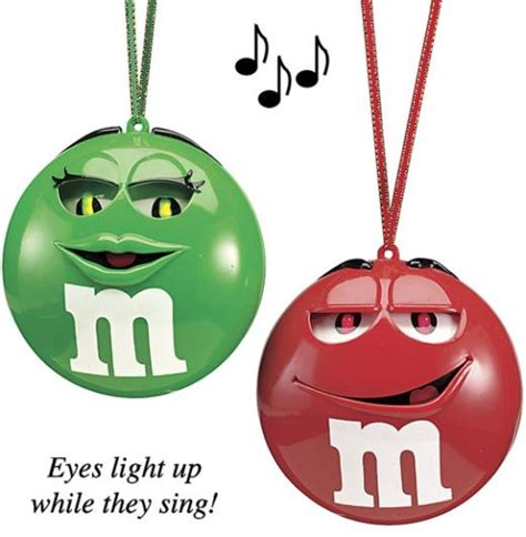 musical christmas ornaments starring m m s walyou