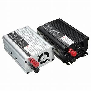 Solar Power Inverter 300w Peak 12v Dc To 220v Ac Modified