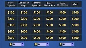 jeopardy template powerpoint 2007 - send you awesome jeopardy and family feud powerpoint game