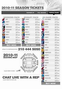 2010 11 Spurs Ticket Partial Plan Packages The Official