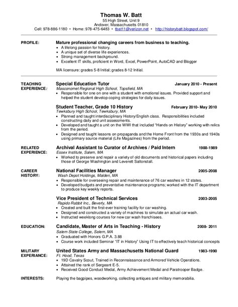 Auto Detailing Manager Resume by My Resume