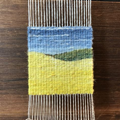 weaving   ends  field guide  needlework
