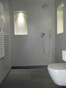 Beton Cire Berlin : 36 best images about salle de bain on pinterest pebble ~ Lizthompson.info Haus und Dekorationen