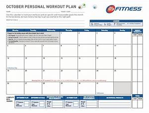 professional workout template format excel word and pdf With workout plan template pdf