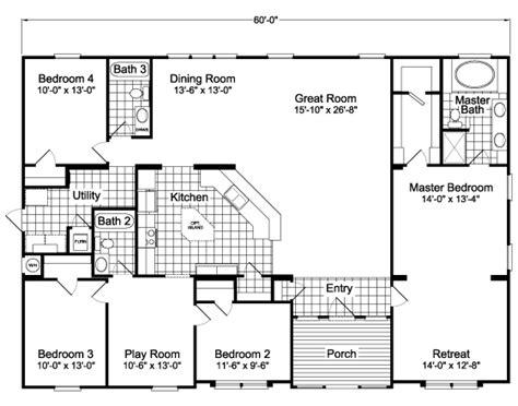 hacienda scwdt home floor plan manufactured
