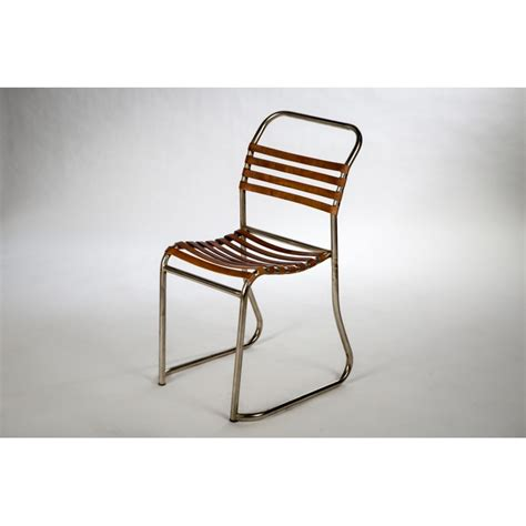 Chaise Cuir Design by Design Metal Leather Chair Sweet Mango