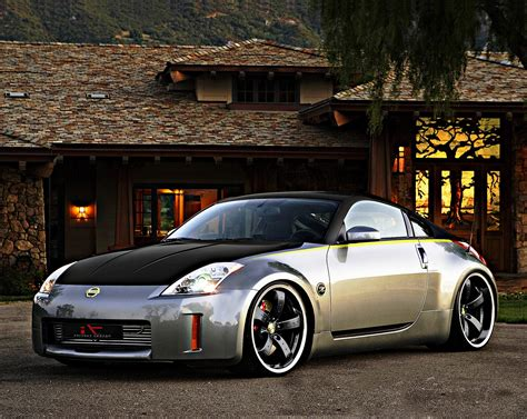 Nissan 350z Car Wallpapers by Free Cars Hd Wallpapers Nissan 350z Tuning Hd Wallpapers