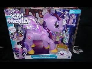 Unboxing and Overview of the My Little Pony The Movie : My ...