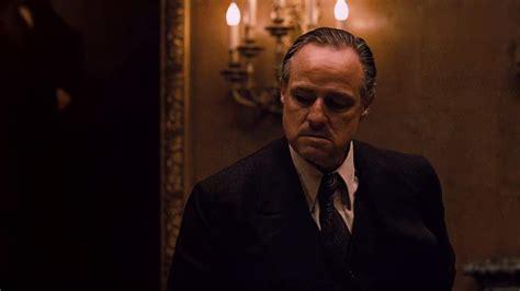 教父:教父与纽约黑手党和谈,马龙白兰度演技炸裂,电影史上 ...
