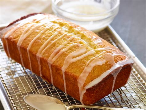 Easy Lemon Pound Cake With Glaze