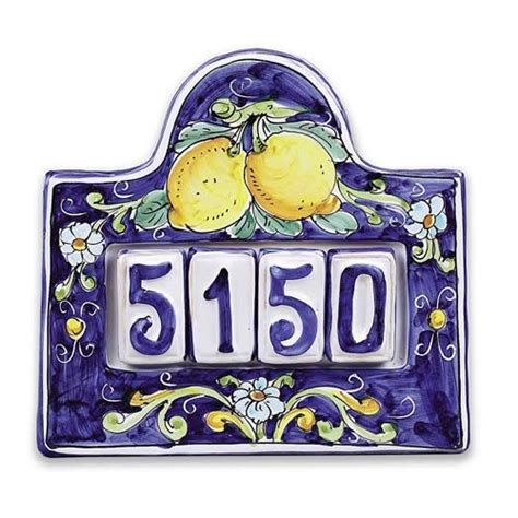 tile house numbers 25 best ideas about ceramic house numbers on