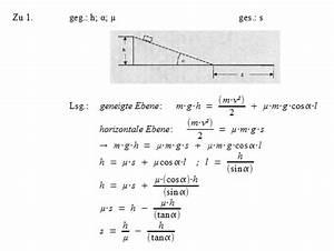 Physik Arbeit Berechnen : patrick 39 s physikseite physikaufgaben mit l sungen physik ~ Themetempest.com Abrechnung