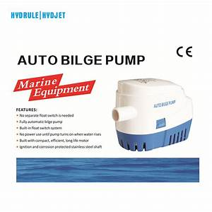 Hydrule Automatic Submersible Boat Bilge Water Pump 12v