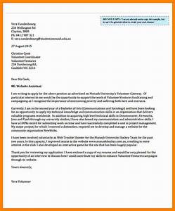 how to write a cover letter for volunteering - sample interest letter for volunteering printable