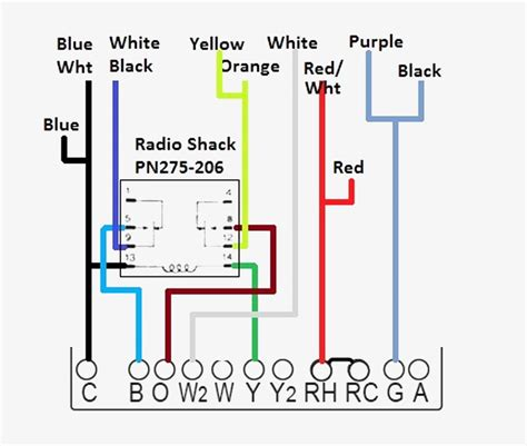 Collection Carrier Heat Pump Thermostat Wiring Diagram