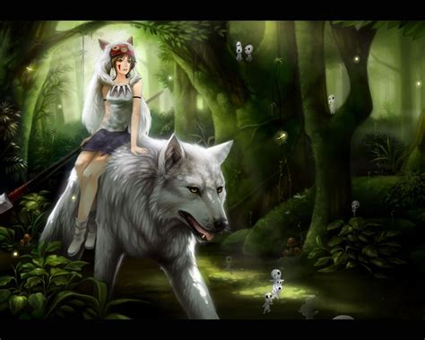 Anime Wolf Wallpapers