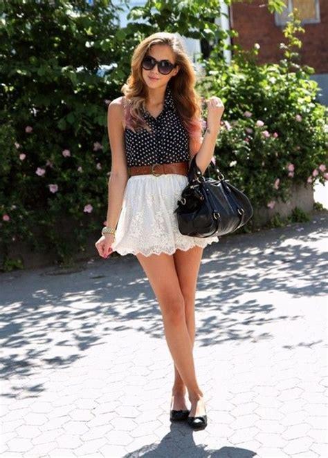 Hot Black Mini Skirts for Women