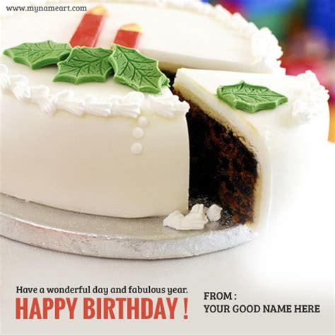 beautiful birthday greeting card  cake wishes