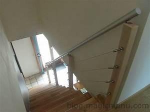 Garde Corps à Faire Soi Même : comment fabriquer une rampe d escalier moderne ~ Premium-room.com Idées de Décoration