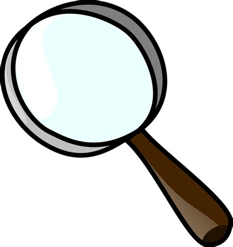 foto de cartoon magnifying glass clipart Clipground