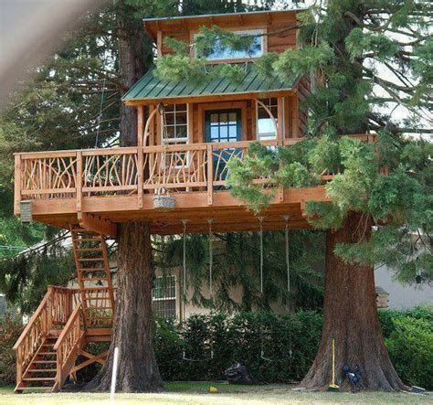 Nice Tree House  Living Off The Grid  Pinterest