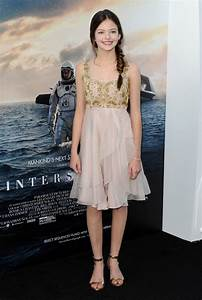 Mackenzie Foy in 'Interstellar' Premieres in Hollywood ...