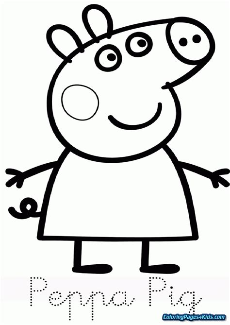 peppa pig coloring pages Coloring Pages For Kids