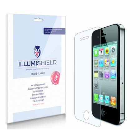 blue light filter app iphone illumishield blue light filter screen protector 2x for
