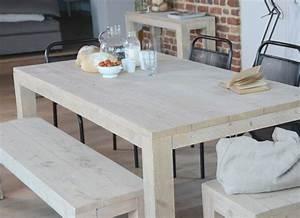 Table Et Banc De Jardin : table et banc de jardin l 39 habis ~ Teatrodelosmanantiales.com Idées de Décoration