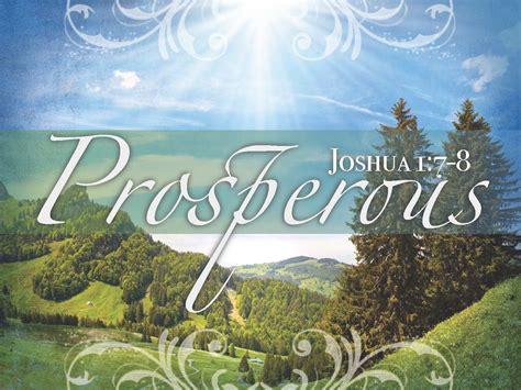 prosperous ministry