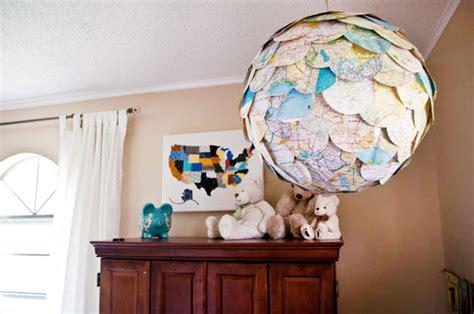 Riciclare cartine geografiche 30 idee creative Ispirando