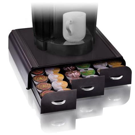 keurig storage drawer mind reader anchor coffee pod storage drawer for 36