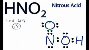 Lewis Structure Of Hno2