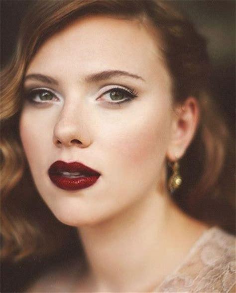 winter themed dark lips makeup ideas styles   modern fashion blog
