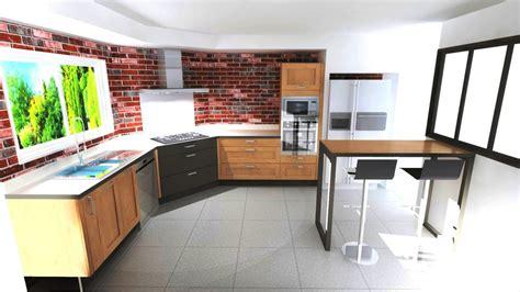 cuisine avec plaque de cuisson en angle cuisine avec cuisson d 39 angle style industriel à aubie