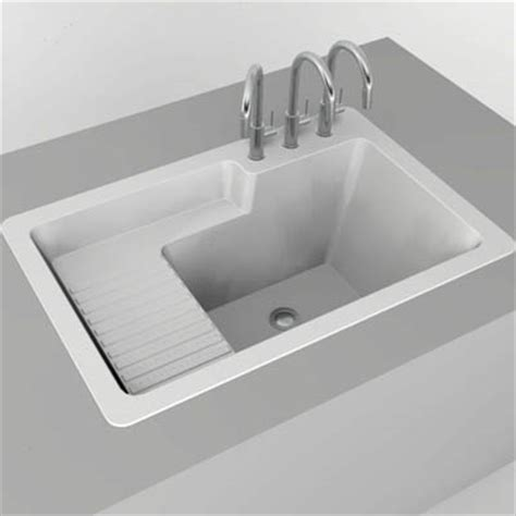 corstone laundry sink 3d model formfonts 3d models