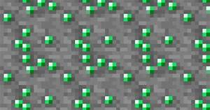 8-bit Emerald Ore fabric by cmcnealy on Spoonflower ...