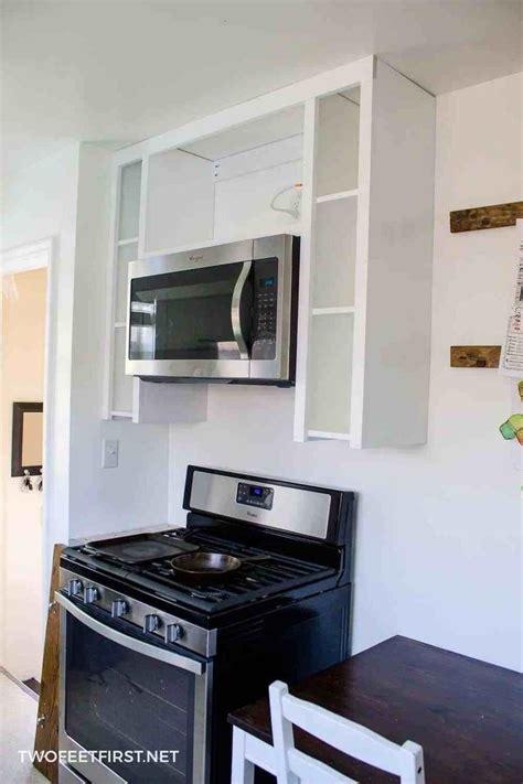 installing    range microwave microwave
