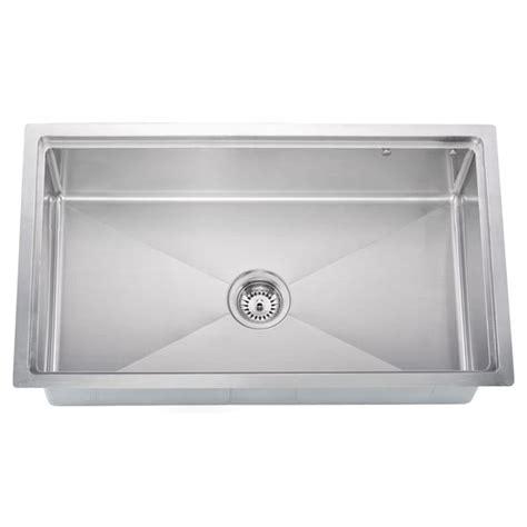 Undermount 18 Gauge Small Radius Single Bowl Kitchen Sink
