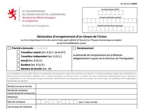 bureau des non r idents luxembourg comment devenir résident luxembourgeois placer