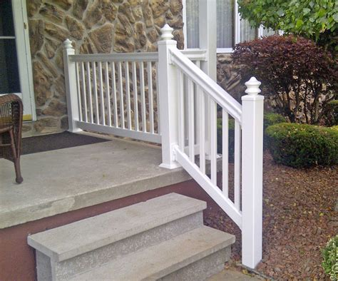 vinyl porch railing vinyl deck railings free