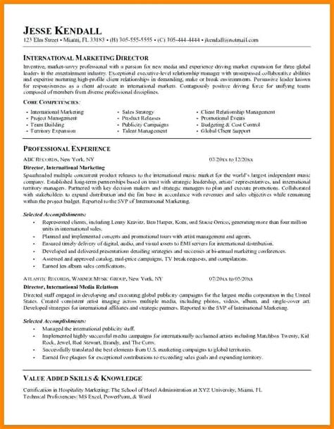 Resume Objective Sle by 11796 Marketing Resume Objective Statements Marketing